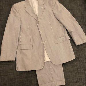 Seersucker Suit 2pc